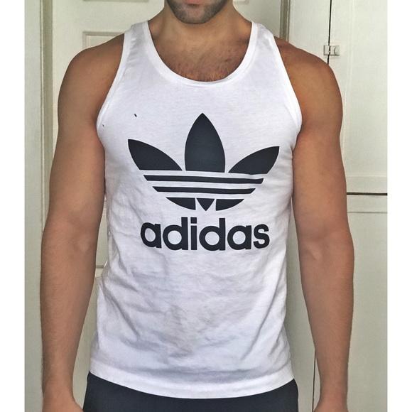 Men's adidas sleeveless T-shirt medium